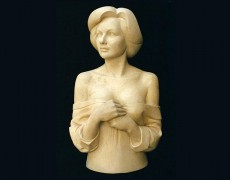 Retrat – bust de dona