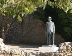 Escultura homenatge a Francesc Cabanas
